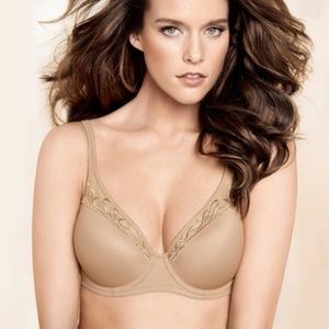 Soma Breathe Beautifully Cool Spacer Bra tan nude